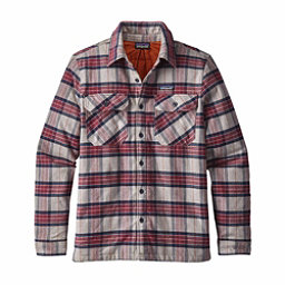 Patagonia Insulated Fjord Flannel Flannel Shirt, Migration Plaid-Drumfire Red, 256
