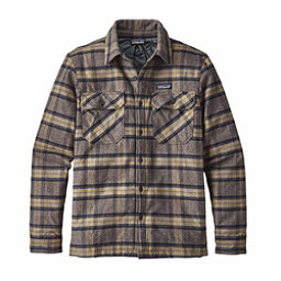 Patagonia Insulated Fjord Flannel Flannel Shirt, Migration Plaid-Forge Grey, 256