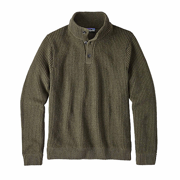 Patagonia Off Country Pullover Mens Sweater, Industrial Green, 600