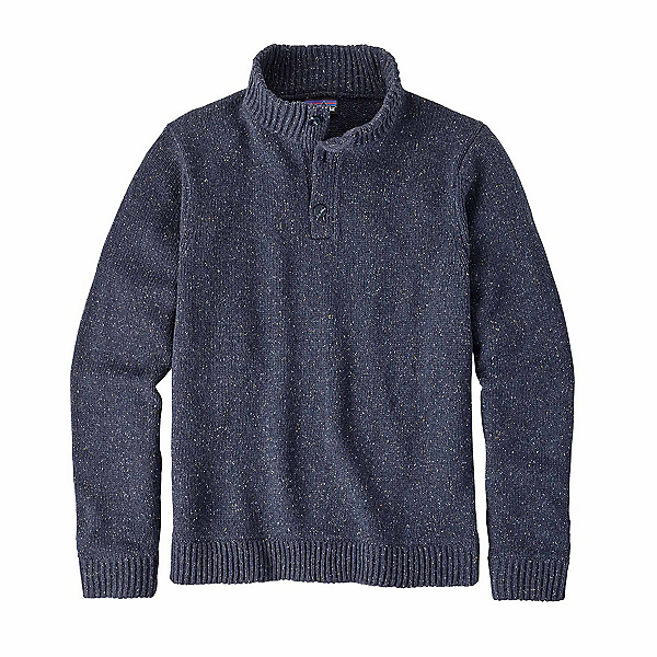 Patagonia Off Country Pullover Mens Sweater, Navy Blue, 600