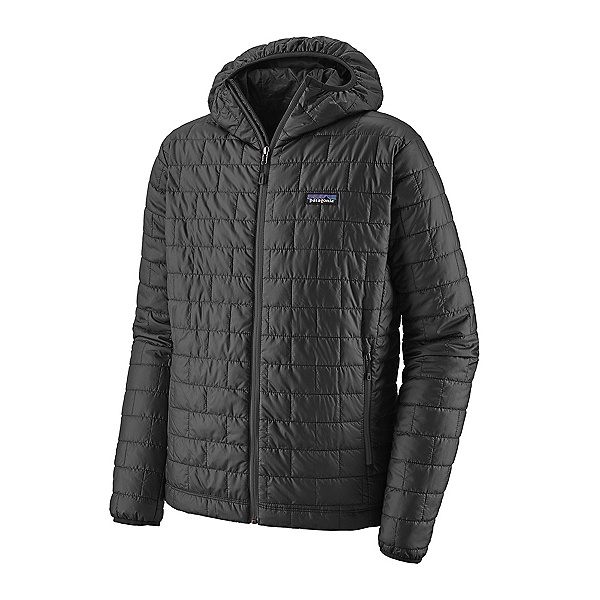 Patagonia Nano Puff Hoody Mens Jacket, Forge Grey, 600