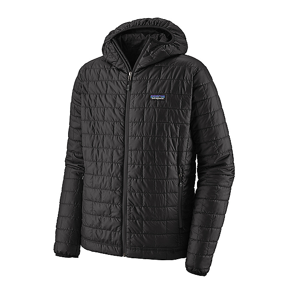 Patagonia Nano Puff Hoody Mens Jacket, Black, 600