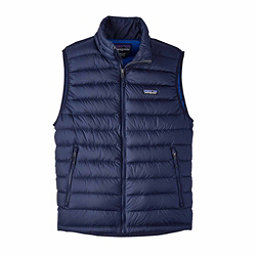 Patagonia Down Sweater Mens Vest, Navy Blue, 256