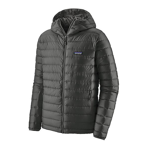 Patagonia Down Sweater Hoody Mens Jacket, Forge Grey, 600