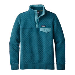 Patagonia Cotton Quilt Snap-T Womens Mid Layer, Elwha Blue, 256