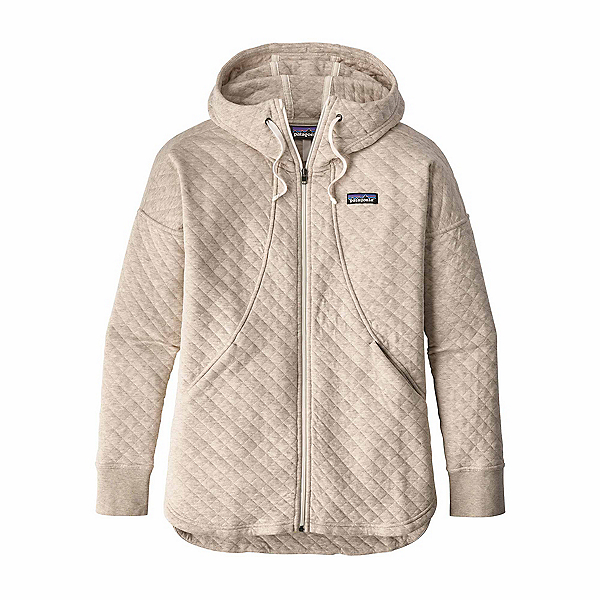 Patagonia Cotton Quilt Womens Hoodie, Birch White, 600