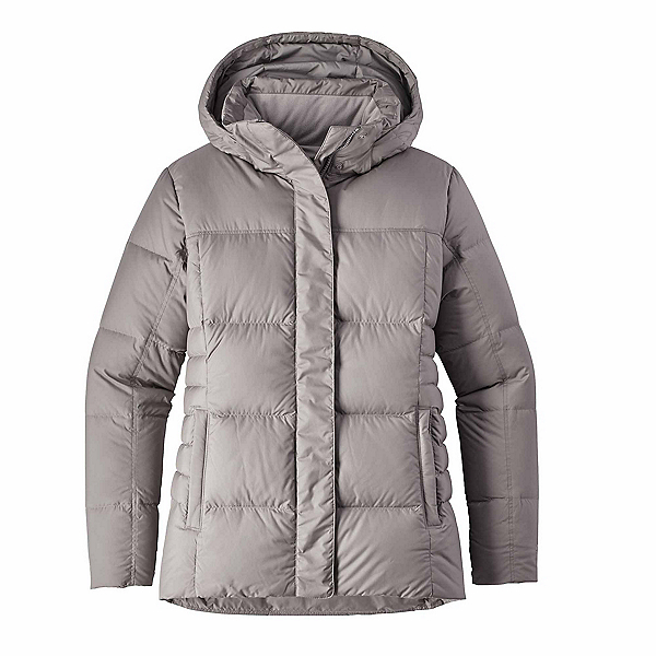 Patagonia Down With It Womens Jacket, Feather Grey, 600