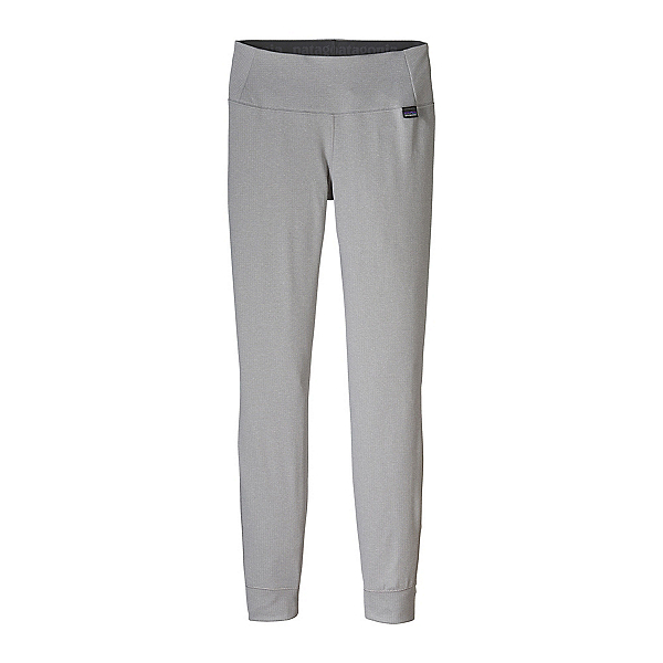 Patagonia Capilene Midweight Womens Long Underwear Pants, Feather Grey-Tailored Grey X D, 600