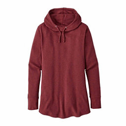 Patagonia Waffle Tunic Womens Hoodie, Drumfire Red, 256