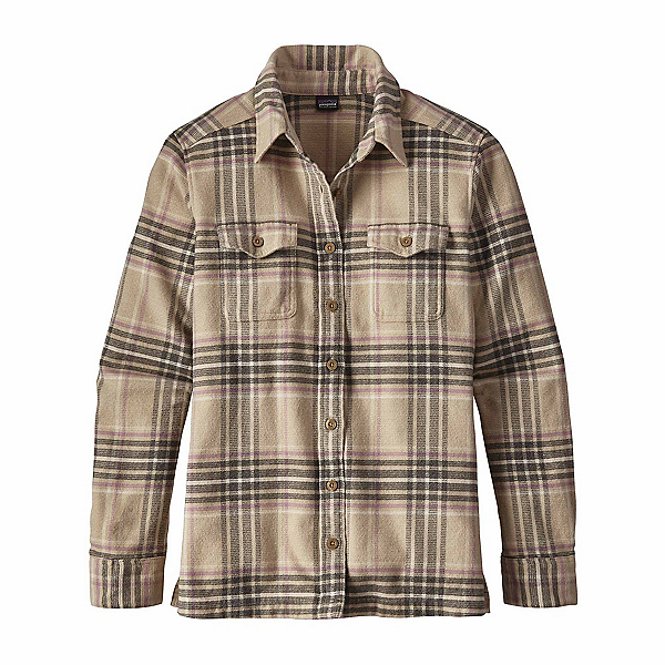 Patagonia Long Sleeved Fjord Womens Flannel Shirt 2018, , 600