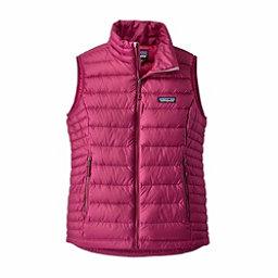 Patagonia Down Sweater Womens Vest, Magenta, 256