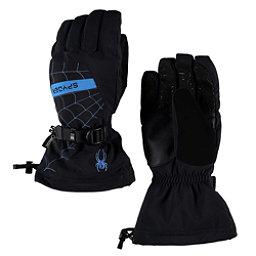 Spyder Overweb Gore-Tex Gloves, Black-French Blue, 256