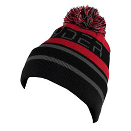 Spyder Icebox Kids Hat, Black-Red-Polar, 256
