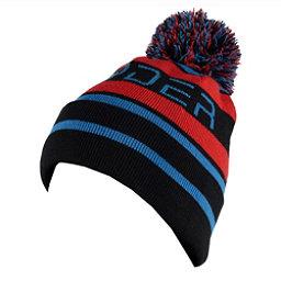 Spyder Icebox Kids Hat, Black-Burst-French Blue, 256