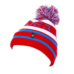 Spyder Icebox Kids Hat, Red-French Blue-White, 256