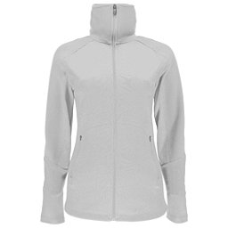Spyder Bandita Full Zip Lightweight Stryke Womens Sweater, White-White, 256