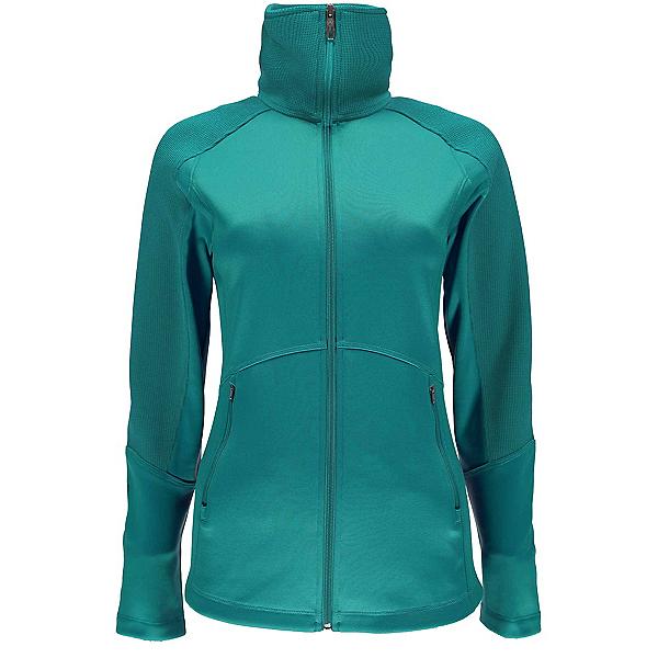Spyder Bandita Full Zip Lightweight Stryke Womens Sweater, Baltic-Baltic, 600