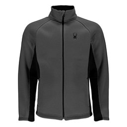 Spyder Foremost Full Zip Mens Sweater, Polar-Black, 256