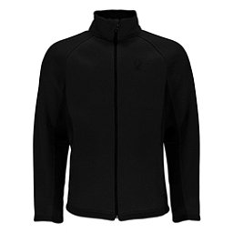 Spyder Foremost Full Zip Mens Sweater, Black-Black, 256