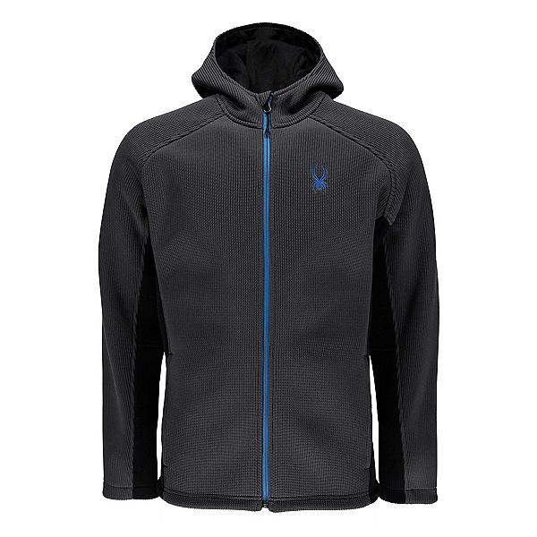 Spyder Foremost Full Zip Mens Sweater, Polar-Black, 600