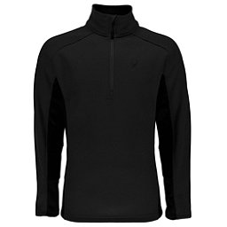 Spyder Outbound Half Zip Mens Sweater, Black-Black, 256