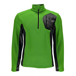 Spyder Bandit Half Zip Mens Sweater, Fresh-Polar, 256