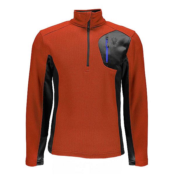 Spyder Bandit Half Zip Mens Sweater, Burst-Polar, 600
