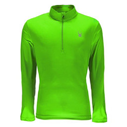 Spyder Limitless Quarter Zip DryWEB Mens Mid Layer, Fresh, 256