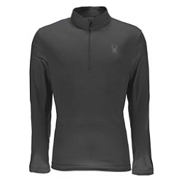Spyder Limitless Quarter Zip DryWEB Mens Mid Layer, Polar, 256