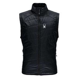 Spyder Glissade Insulated Mens Vest, Black-Black, 256