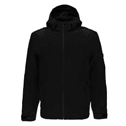 Spyder Monterosa Mens Insulated Ski Jacket, Black-Black, 256