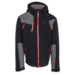 Spyder Bromont Mens Insulated Ski Jacket, Black-Polar, 256