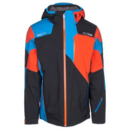 Spyder Vyper Mens Insulated Ski Jacket, Black-Burst, 256