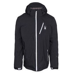 Spyder Leader Mens Insulated Ski Jacket, Black-Black, 256