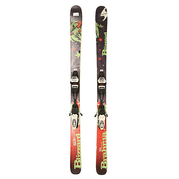 Used 2014 Mens Blizzard Brahma Skis with Marker Griffon Bindings C, , 600