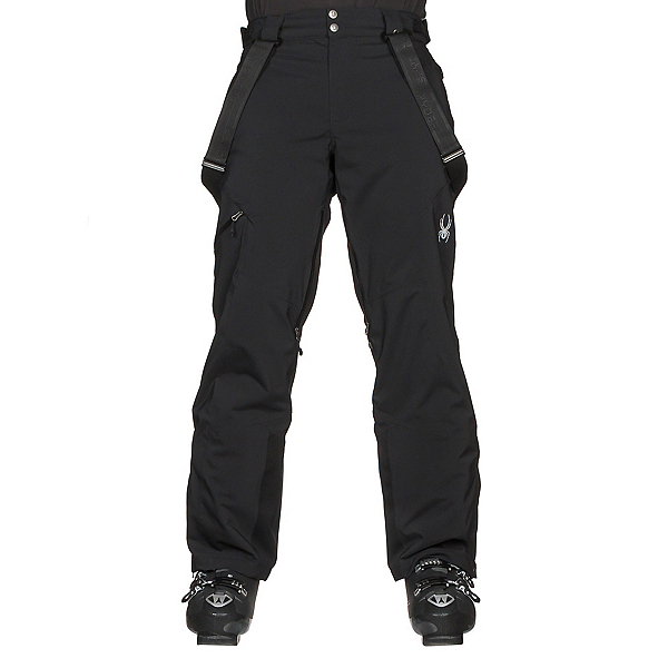 Spyder Dare Athletic Mens Ski Pants, Black, 600