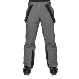 Spyder Dare Athletic Mens Ski Pants, Polar Herringbone, 256