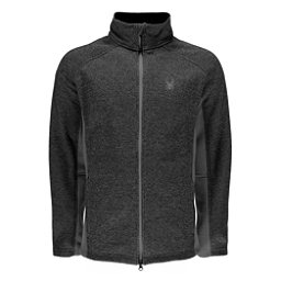 Spyder Constant Novelty Mens Sweater, Black-Limestone, 256