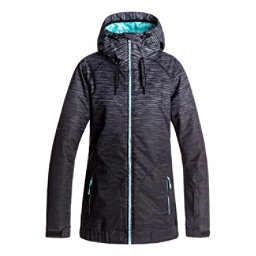 Roxy Valley Hoodie Womens Insulated Snowboard Jacket, , 256