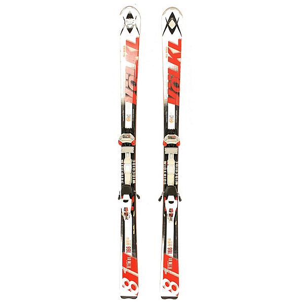 Used 2014 Mens Volkl RTM 81 Skis with Marker WideRide Bindings C, , 600