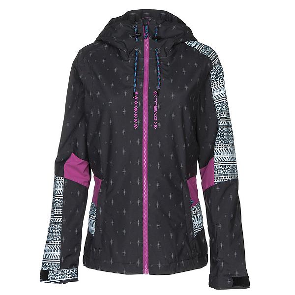 O'Neill Reunion Womens Insulated Ski Jacket, Hollyhook, 600