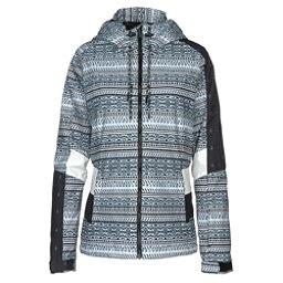 O'Neill Reunion Womens Insulated Ski Jacket, Black Out, 256