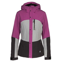 O'Neill Coral Womens Insulated Ski Jacket, Silver Melee, 256