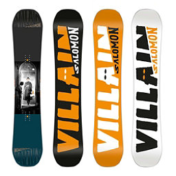 Salomon The Villain Snowboard 2018, 153cm, 256