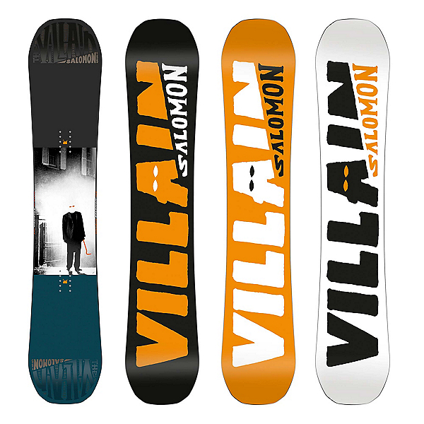 Salomon The Villain Wide Snowboard 2018, 155cm Wide, 600