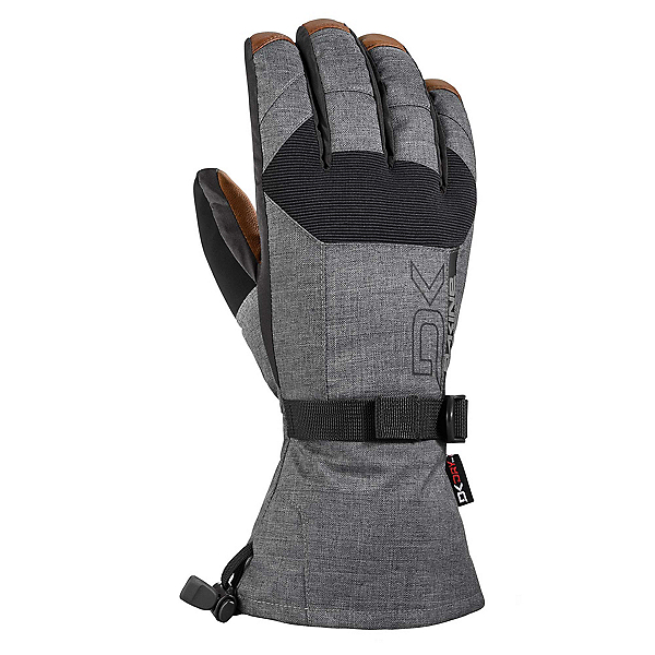 Dakine Leather Scout Gloves, Carbon, 600