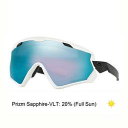 Oakley Wind Jacket 2.0 Prizm Goggles 2018, Matte White-Prizm Snow Sapphire Iridium, 256