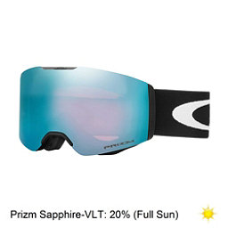 Oakley Fall Line Prizm Goggles 2018, Matte Black-Prizm Sapphire Iridium, 256