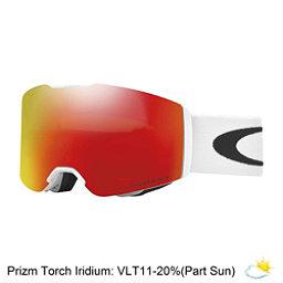 Oakley Fall Line Prizm Goggles, Matte White-Prizm Torch Iridium, 256