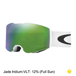 Oakley Fall Line Prizm Goggles 2018, Matte White-Prizm Jade Iridium, 256
